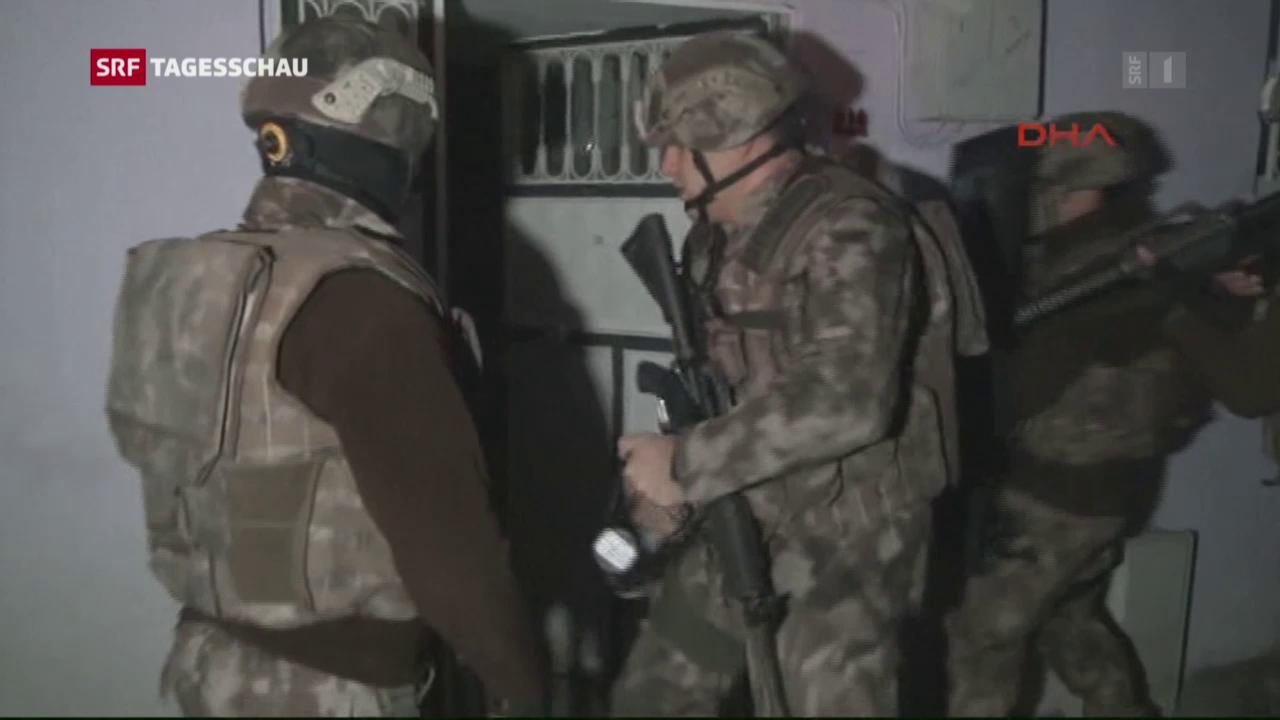 Razzien gegen IS in der Türkei