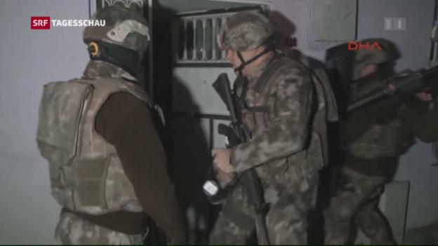 Video «Razzien gegen IS in der Türkei» abspielen