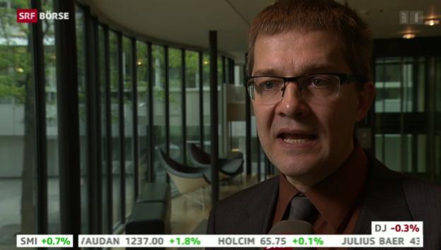 Video «SRF Börse vom 15.10.2013» abspielen