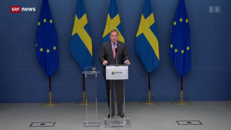 Archiv: Schwedens Ministerpräsident Löfven tritt zurück