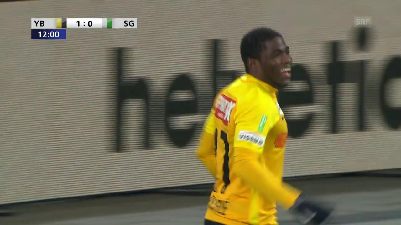 Assalé trifft gegen St. Gallen doppelt