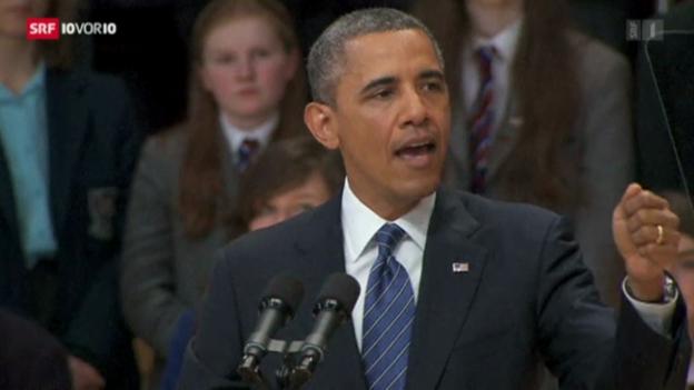 Video «Obama und Putin uneins in Syrienfrage» abspielen