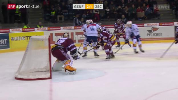 Video «Eishockey: NLA, Genf - ZSC» abspielen