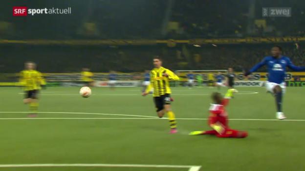 Video «Fussball: Europa League, YB-Everton» abspielen