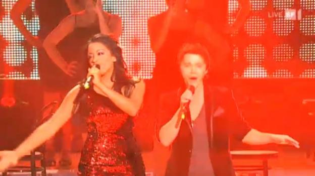 Video «Patric Scott feat. Fabienne Louves mit «Real Love»» abspielen