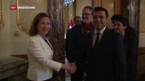 Video ««Heikler» Besuch in Bern» abspielen