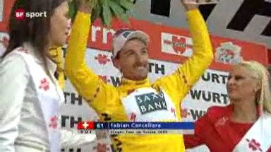 Cancellara gewinnt die Tour de Suisse!