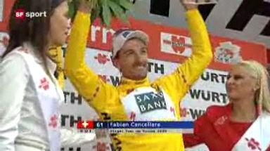 Video «Cancellara gewinnt die Tour de Suisse!» abspielen