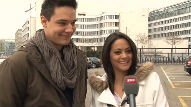 Alina Buchschacher und Fabien Papini über ihr Liebes-Glück