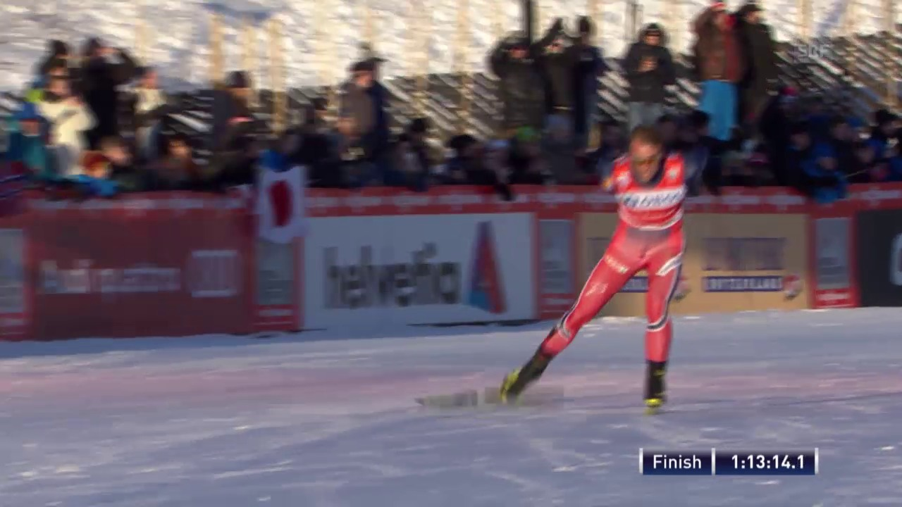 Langlauf: Totaler norwegischer Triumph