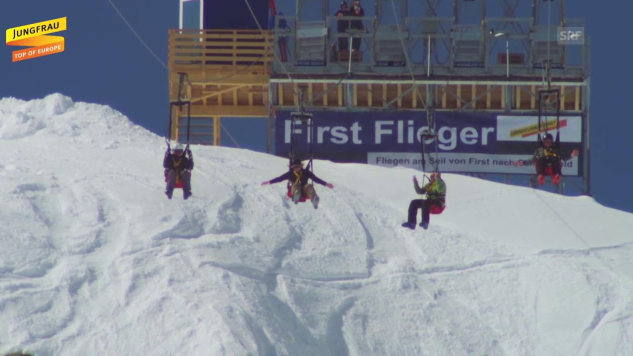 First Flieger in Aktion