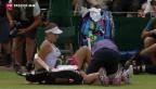 Video «Erfolgreiche Schweizer in Wimbledon» abspielen