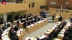 Video «Zyperns Parlament verhandelt über den Rettungsplan» abspielen