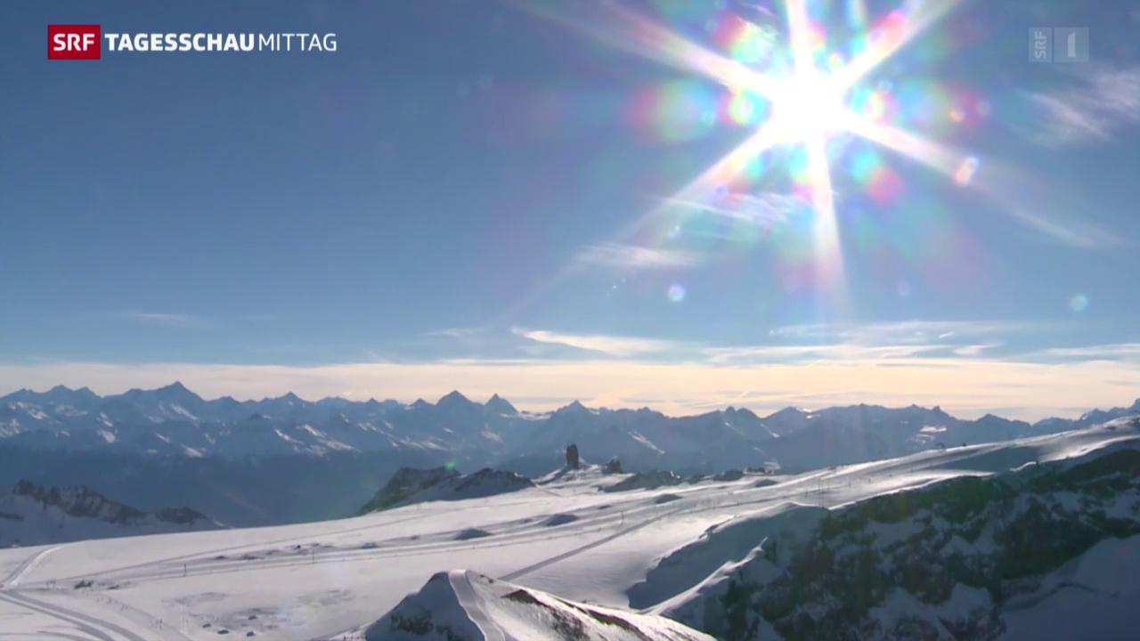 Schneemangel bedrängt Tourismusbranche