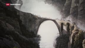 Video «Gotthard-Tunnel: Historische Verkehrsachse» abspielen