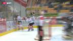 Video «Eishockey: Lugano - Zug» abspielen