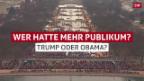 Video Streit um Besucherzahlen bei der Inauguration abspielen.