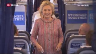 Video «Die Abwege des US-Wahlkampfs zwischen Clinton und Trump» abspielen