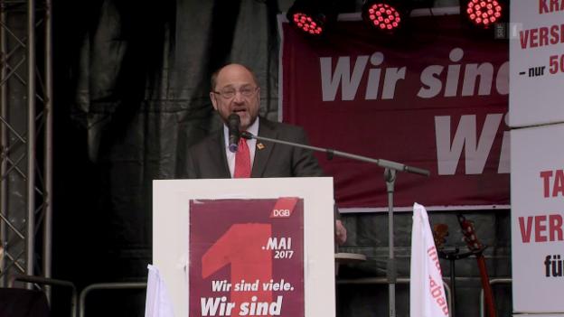 Video «Kanzlerkandidat Martin Schulz zur Spionge-Affäre» abspielen