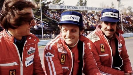 Link öffnet eine Lightbox. Video Clay Regazzoni - Leben am Limit abspielen