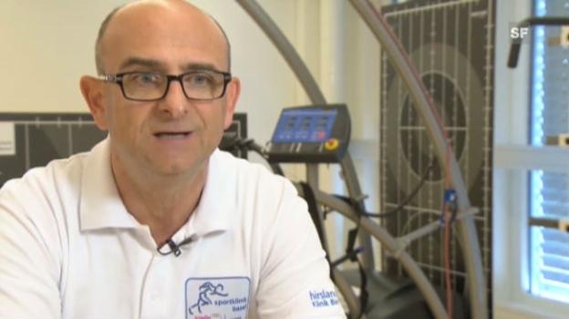 Video «Dr. Matteo Rossetto zum Thema barfuss joggen» abspielen