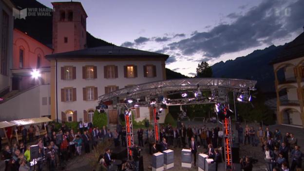 Video «Wahl-Arena: Wirtschaft» abspielen
