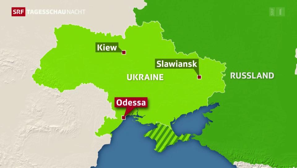 Eskalierende Gewalt in der Ostukraine