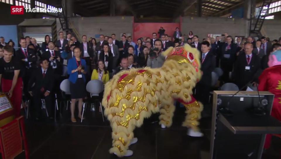 Freihandelsabkommen mit China in Kraft