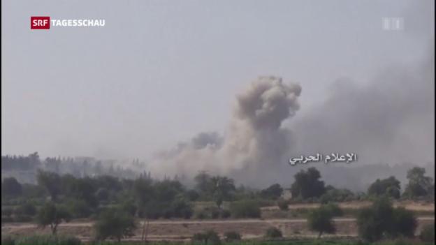 Video «Feuerpase in Aleppo gefordert» abspielen