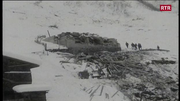 Laschar ir video «Trun avant 50 onns: La lavina da Cartatscha»
