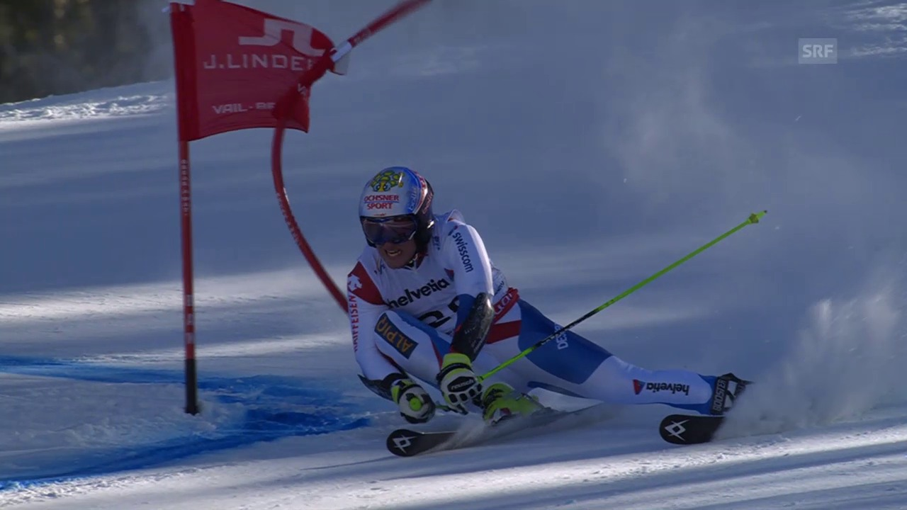 Ski alpin: WM 2015 in Vail/Beaver Creek, Riesenslalom der Männer, 2. Lauf von Justin Murisier