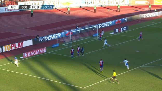 Video «Fussball: Highlights GC - Basel («sportlive», 23.02.2014)» abspielen