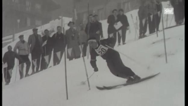 Video «1955: Siege durch Sailer und Julen» abspielen