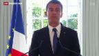 Video «Valls entschuldigt sich für Flug seiner Kinder auf Staatskosten» abspielen