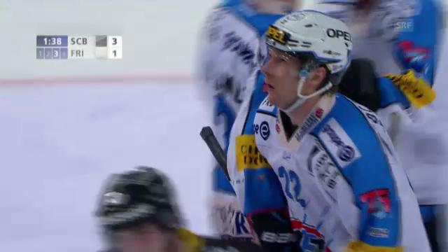 Eishockey: Simon Gamaches letzter Treffer auf Schweizer Eis