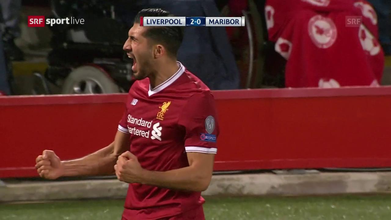 Liverpool schlägt Maribor auch zuhause