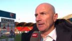 Video «Fussball: SL, Sion Luzern, Interview Bernegger («sportlive», 09.03.2014)» abspielen