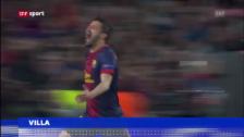 Video «Villa zu Atletico Madrid, Gomez zu Fiorentina («sportaktuell»)» abspielen