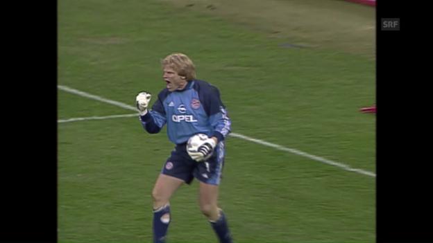 Video «Bayern gewinnen Elfmeterkrimi 2001» abspielen