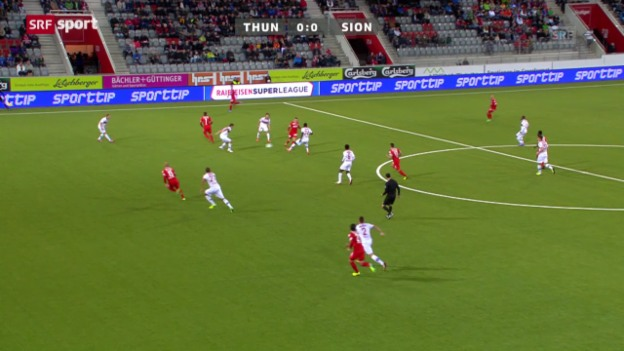 Video «SL: Thun - Sion» abspielen