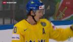 Video «Eishockey-WM: Schweden wird Dritter» abspielen