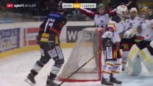 Video «Eishockey: NLA, Bern - Lugano» abspielen