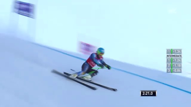 Ski: 2. Lauf Ted Ligety («sportlive»)