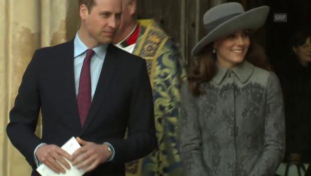 Video «Herzogin Kate präsentiert sich in neuem Stil (unkomm.)» abspielen