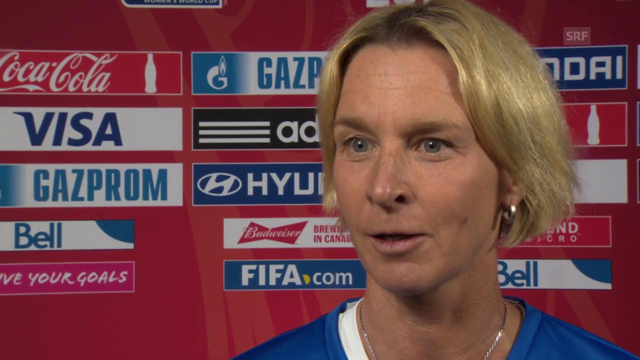 Fussball: Frauen-WM, Interview mit Martina Voss-Tecklenburg