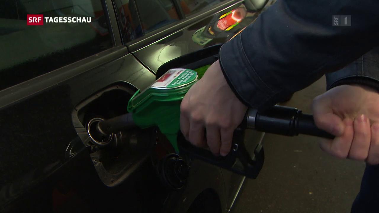 Weniger Benzinverbrauch