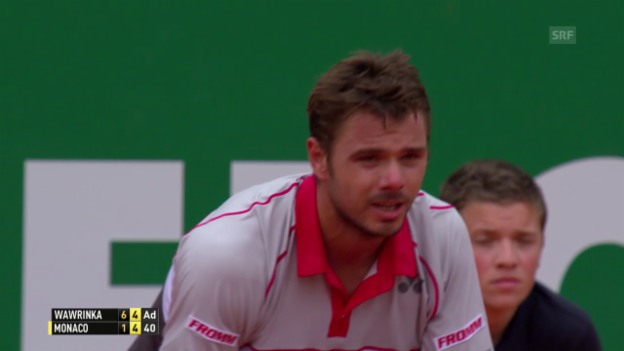 Video «Highlights Wawrinka-Monaco» abspielen