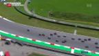 Video «GP von Italien: Geglücktes Comeback» abspielen