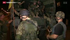 Video «Gefechte in der Ukraine» abspielen