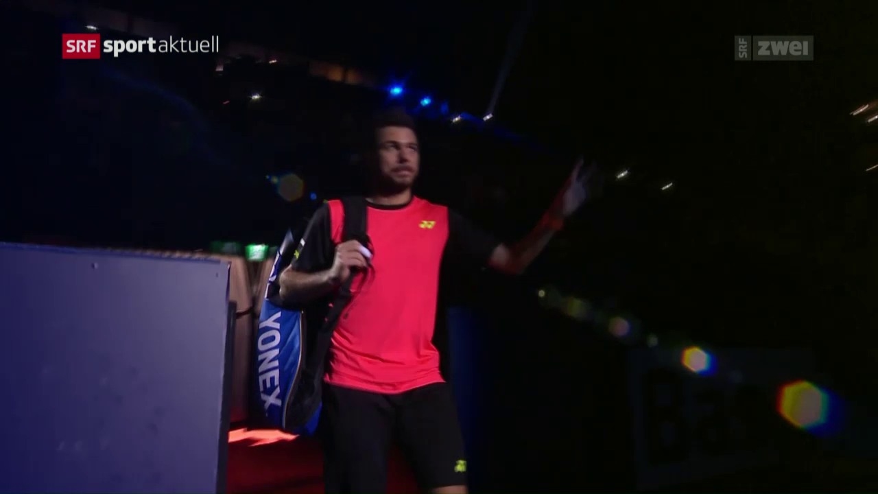 Wawrinka in Basel in der 3. Runde